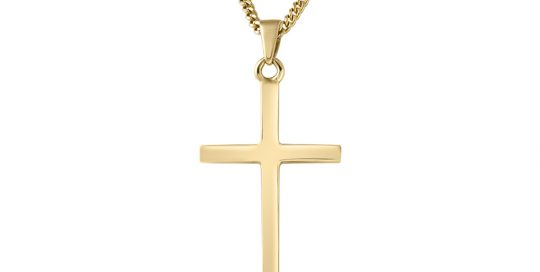 necklace-cross-gold-denis-fairhead-jewellers