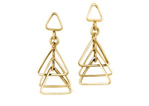 earrings-gold-triangles-denis-fairhead-jewellers