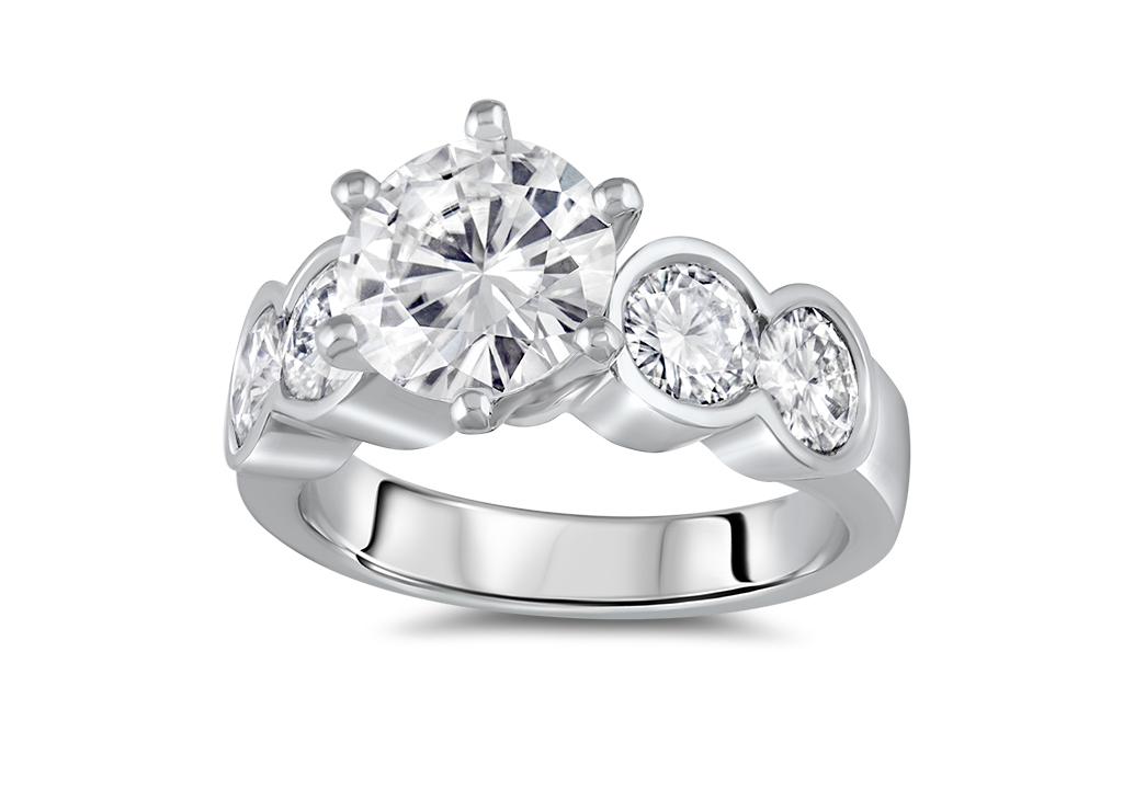 ring-diamond-five-stones-platinum-angled-denis-fairhead-jewellers