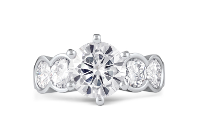 ring-diamond-five-stones-platinum-denis-fairhead-jewellers