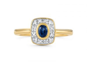 ring-sapphire-diamond-halo-denis-fairhead-jewellers