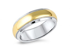 wedding-band-gold-platinum-angled-denis-fairhead-jewellers